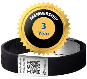 图片 Special Offer: MyMDband with an extended 3 year subscription